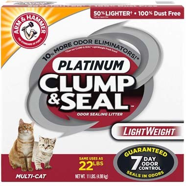Arm & Hammer 33200016731 Clump & Seal Lightweight Cat Litter