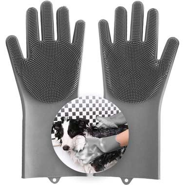 Aufew Magic Pet Grooming Gloves