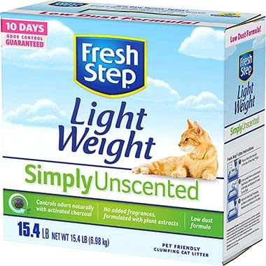 Fresh Step 10044600313761 Lightweight Clumping Cat Litter