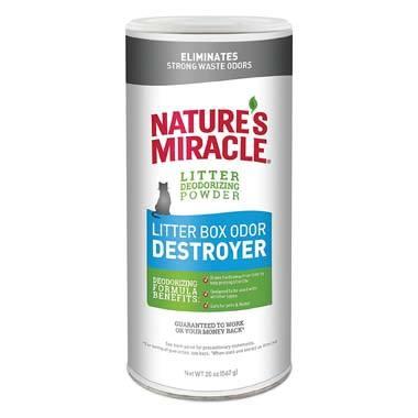 Nature's Miracle NMI05857 Litter Deodorizer Powder