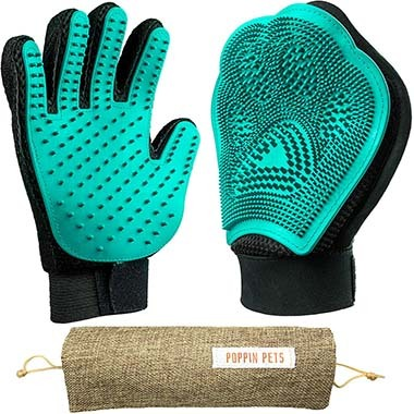 Poppin Pets Pet Grooming Gloves