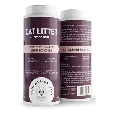 Smiling Paws 001 Organic Cat Litter Deodorizer