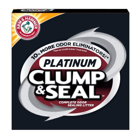 ARM & HAMMER 33200016724 Clump & Seal Platinum Cat Litter