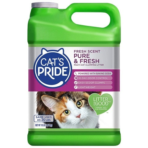 Cat's Pride C47510 Fresh & Light Multi-Cat Litter