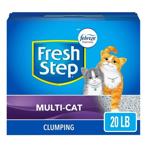 Fresh Step 30393-P Multi-Cat Clumping Litter