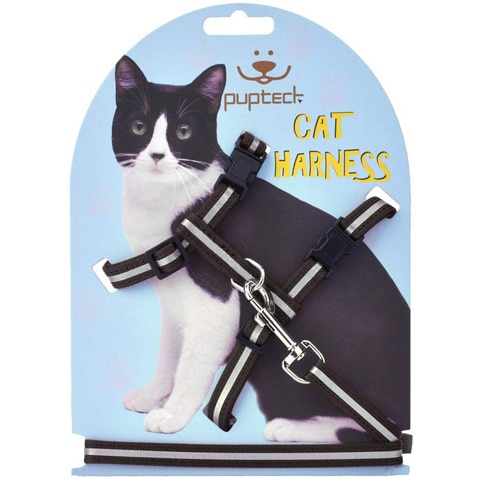 H Cat Harness-PUPTECK-Amazon