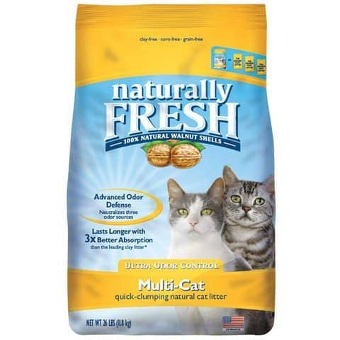 Naturally Fresh 23004 Multi-Cat Quick-Clumping Cat Litter