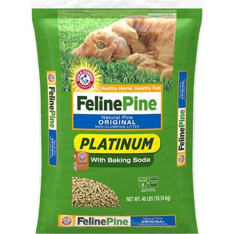 Pine Cat Litter-FelinePine-Amazon