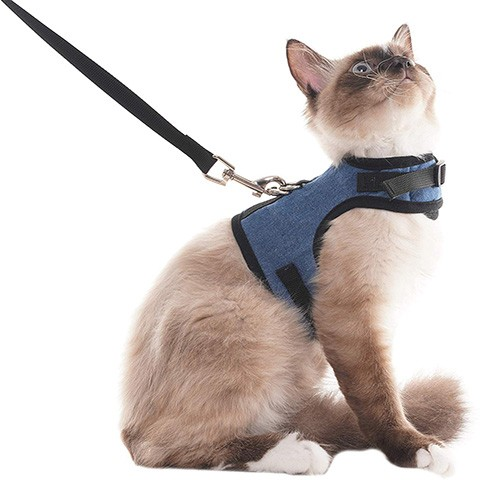 SCENEREAL SH011-02 Escape Proof Cat Harness