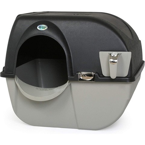 Self Cleaning Litter Box-Omega Paw-Amazon