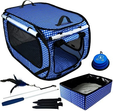Pet Fit For Life Collapsible Cat Carrier