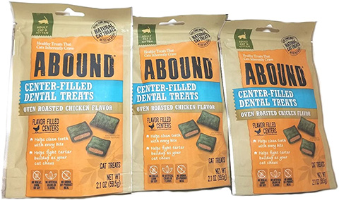 Abound Center-Filled Dental Cat Treats