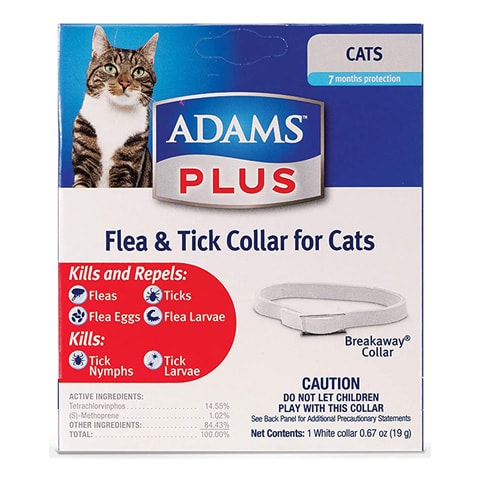 Adams 100520392 Plus Flea and Tick Collar