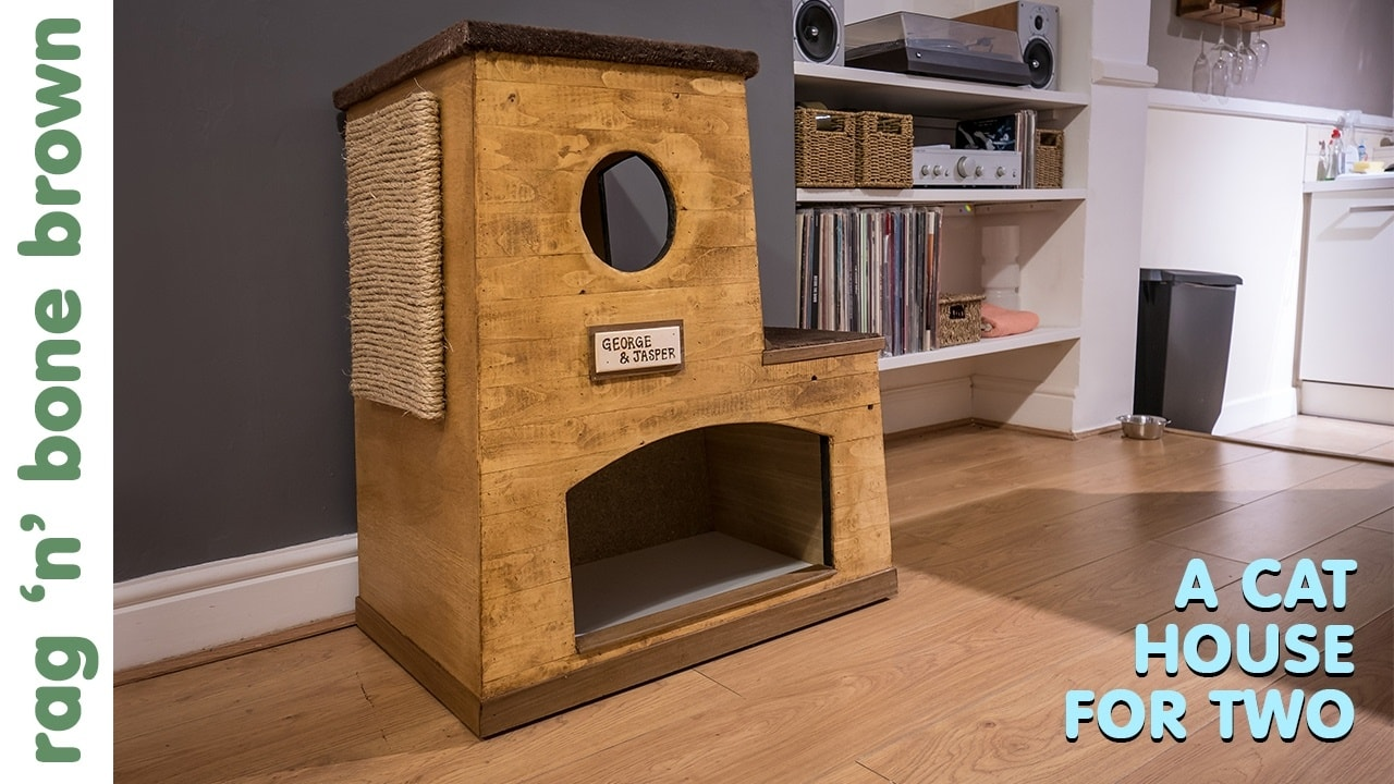 Double Cat House by Rag 'n' Bone Brown