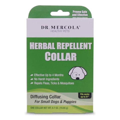 Dr. Mercola Herbal Repellent Collar for Cats & Kittens