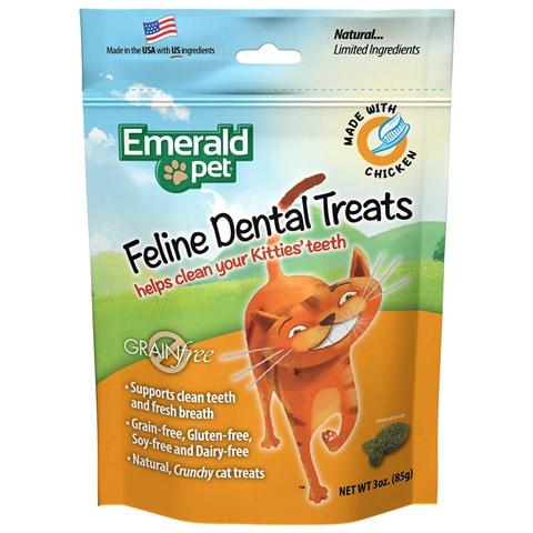 Emerald Pet 00401-CC Feline Dental Treats