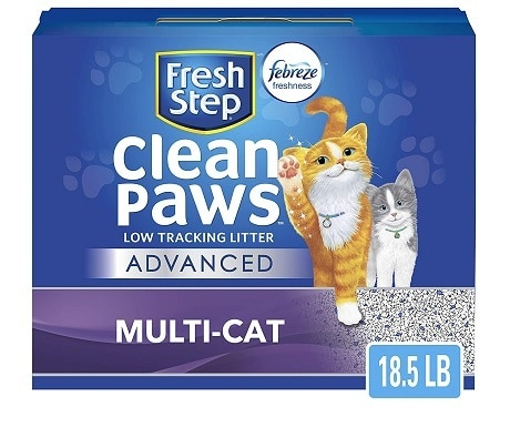 Fresh Step Advanced Clean Paws