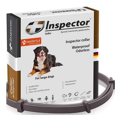 Inspector Flea & Worm Collar for Cats