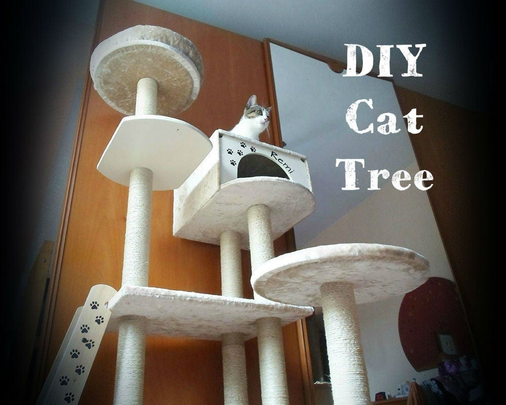 Instructables 21 Step DIY Cat Tree
