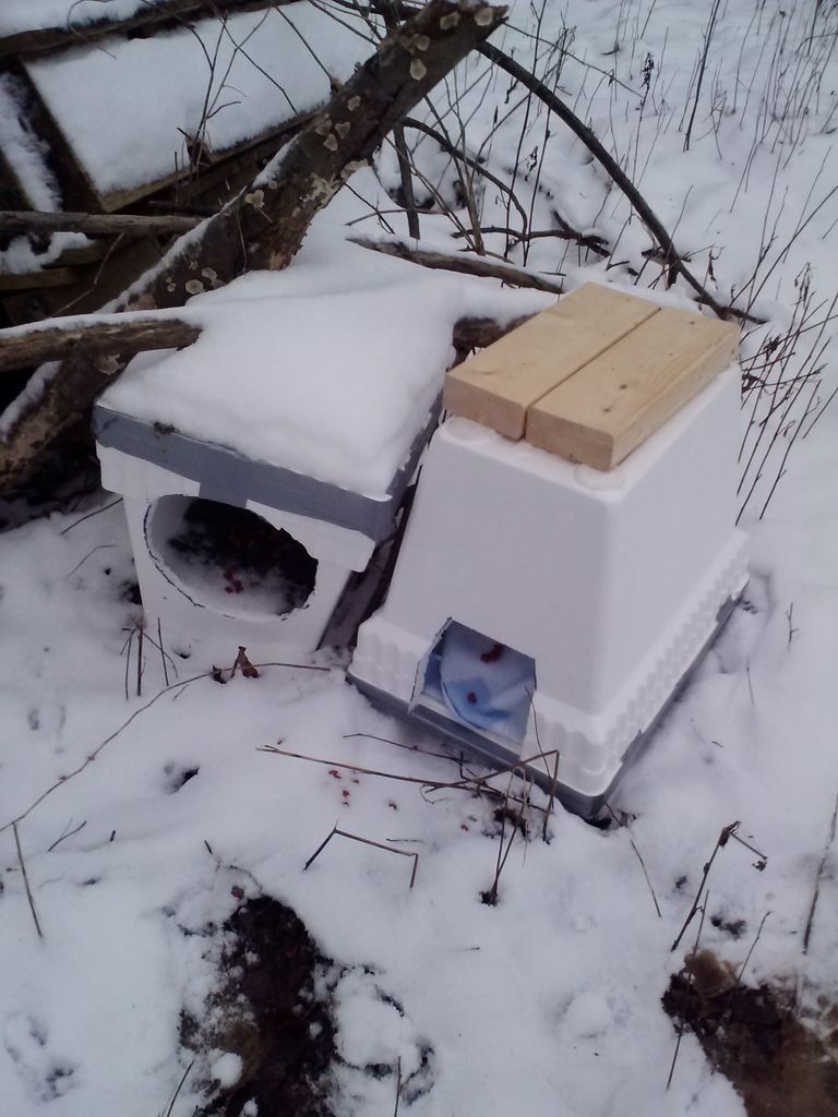 Instructables Easy Winter Shelter for Cats