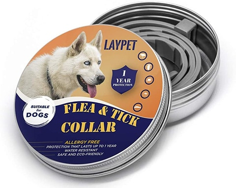 Laypet Cat Flea and Tick Control Collar-100px