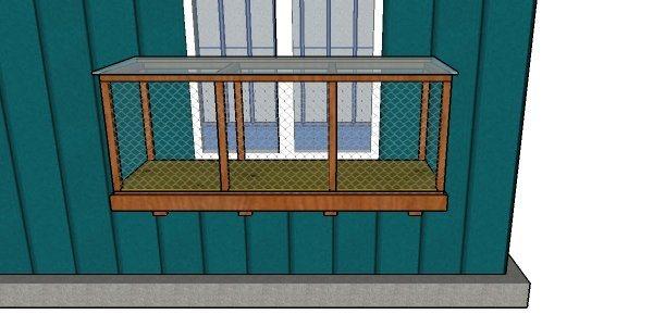 My Outdoor Plans Window Cat Enclosure