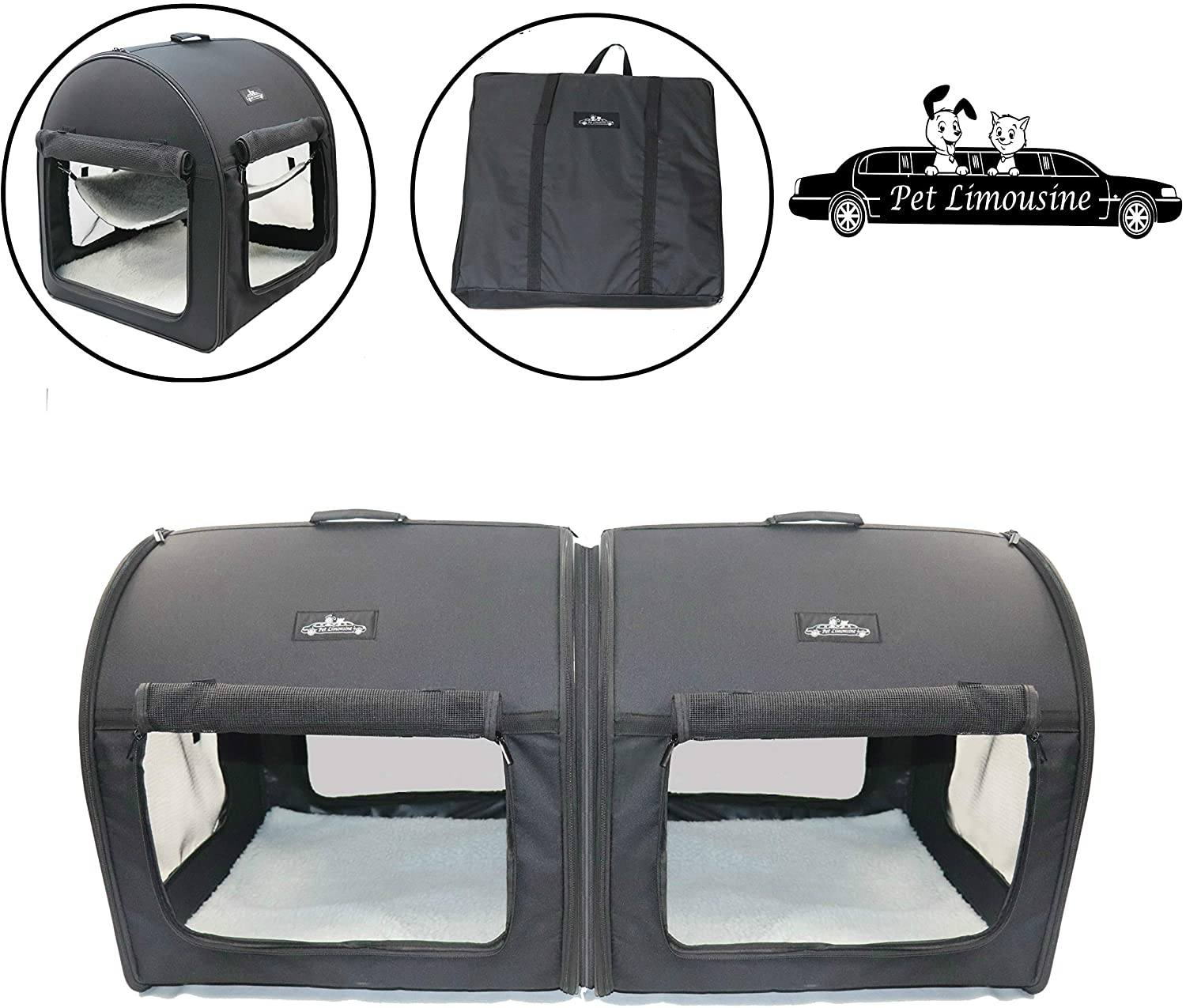 Pet Limousine Soft Dog Cat Carrier