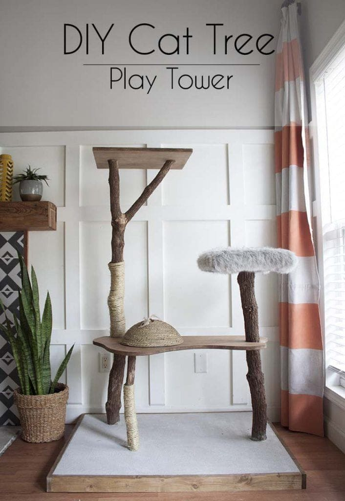 Southern Revivals Cat Tree Play Tower
