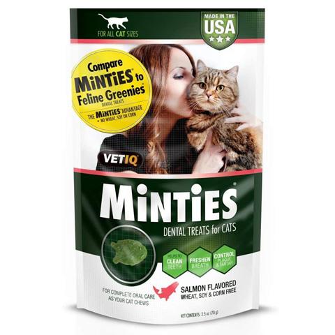 VetIQ 95200030025 Minties Dental Cat Treats
