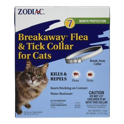 Zodiac Breakaway Flea and Tick Collar for Cats
