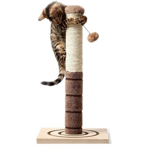 4 Paws Stuff Tall Cat Scratching Post
