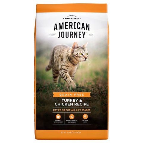 American Journey Grain-Free Dry Cat Food