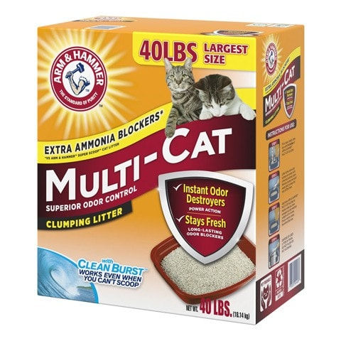Arm & Hammer Fresh Scented Clumping Clay Cat Litter