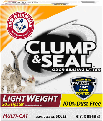 Arm & Hammer Litter Clump & Seal Lightweight