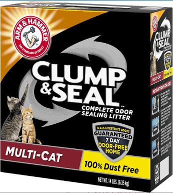 Arm & Hammer Litter Clump & Seal