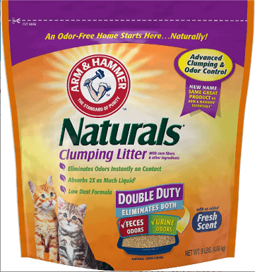 Arm & Hammer Litter Naturals Scented Clumping Corn