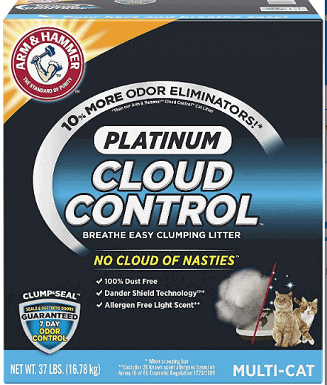 Arm & Hammer Litter Platinum Scented