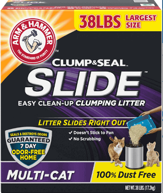 Arm & Hammer Litter Slide Multi-Cat Scent