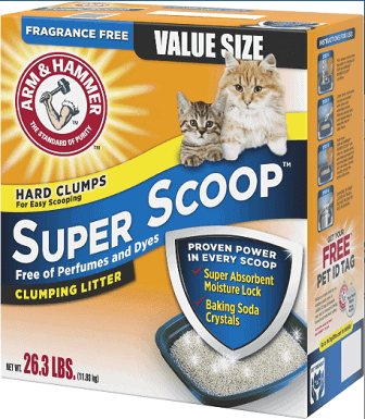 Arm & Hammer Litter Super Scoop Unscented Clumping