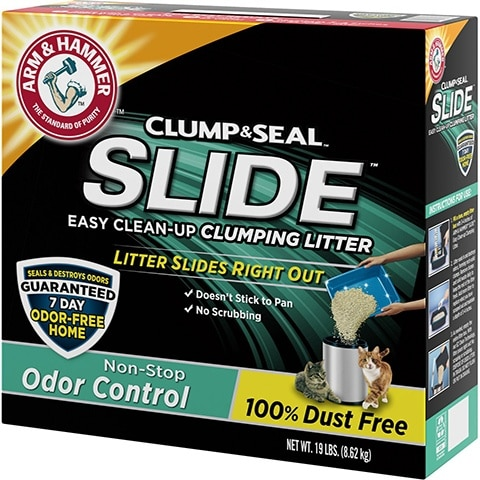 Arm & Hammer Slide Scented Clumping Clay Cat Litter