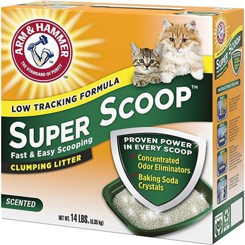 Arm & Hammer Super Scoop Clumping Clay Cat Litter
