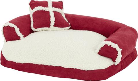 Aspen Pet Bolster Cat Bed