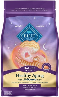 Blue Buffalo Healthy Mature Dry Cat