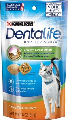DentaLife Tasty Chicken Flavor Dental Cat Treats