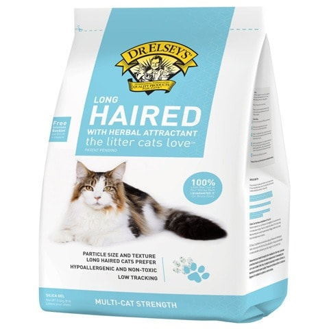 Dr. Elsey's Long Hair Non-Clumping Crystal Cat Litter