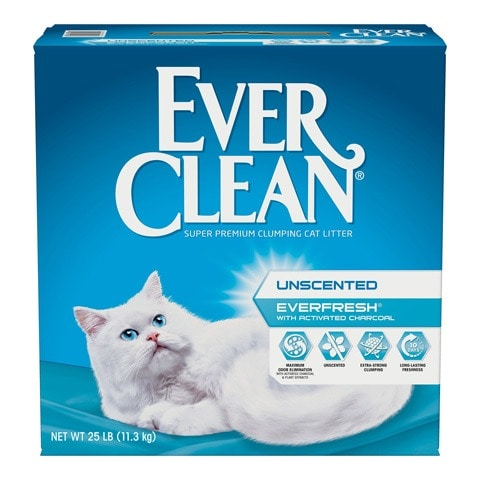 Ever Clean Unscented Clumping Cat litter