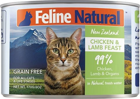 Feline Natural Grain-Free Canned Cat Food