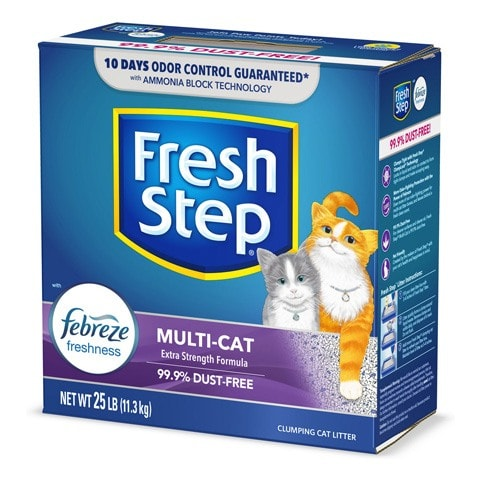 Fresh Step Multi-Cat Scented Clumping Cat Litter