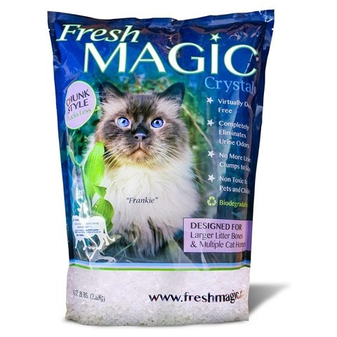 FreshMAGIC Crystal Cat Litter