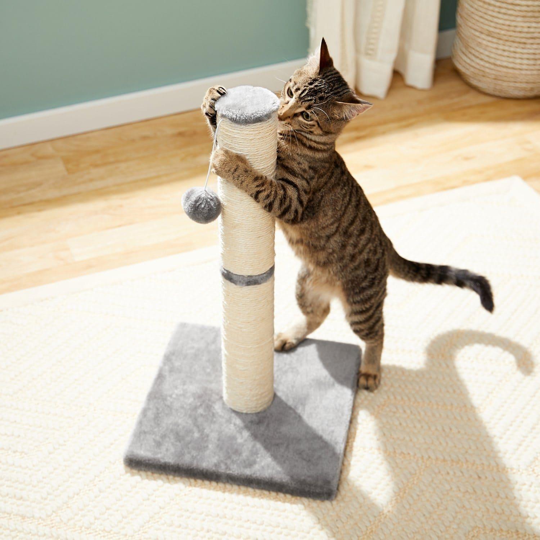 Frisco 21-in Sisal Cat Scratching Post-BG